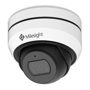 Milesight mini vandal dome kamera med variabel zoom, 5,0MP