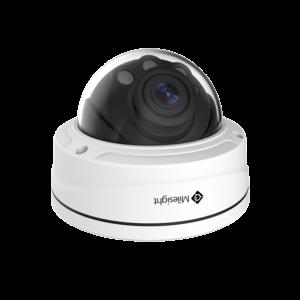 Milesight pro dome 4k kamera med variabel zoom 8,0MP