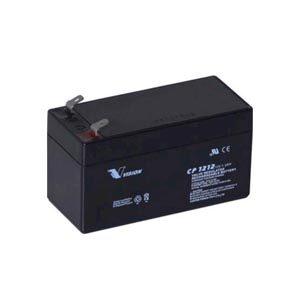 12 volt 1,2 Ah blybatteri AGM