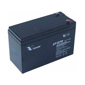 12 volt 7,0 Ah Blybatteri AGM