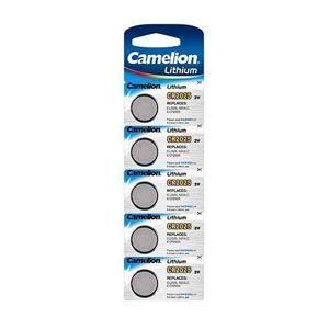 CR2025 Camelion 3V Lithium batterier 5 pak