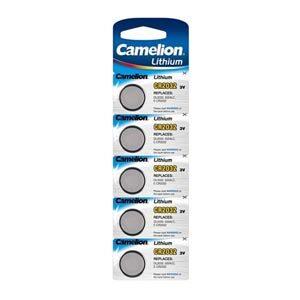 CR2032 Camelion 3V Lithium batterier 5 pak