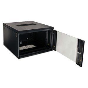 Rackskab med glasfront 6U 600mm