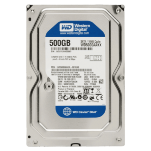 WD Blue 500GB Harddisk