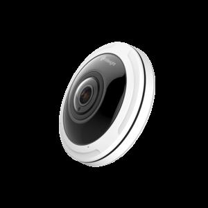 Milesight 360° Panorama Fisheye, 12MP IP-kamera, 15m IR